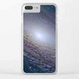 Space galaxy Edge Clear iPhone Case