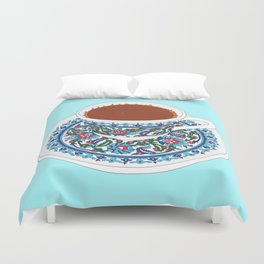 Turkish Coffee Duvet Cover
