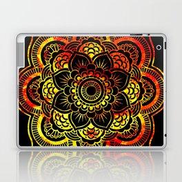 Fiery Sun Mandala Laptop & iPad Skin