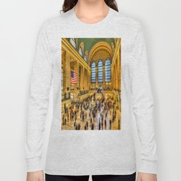 Grand Central Station New York Long Sleeve T-shirt