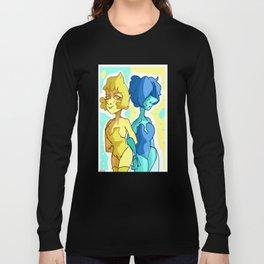 pearl blue pearl yellow pearl su steven universe Long Sleeve T-shirt