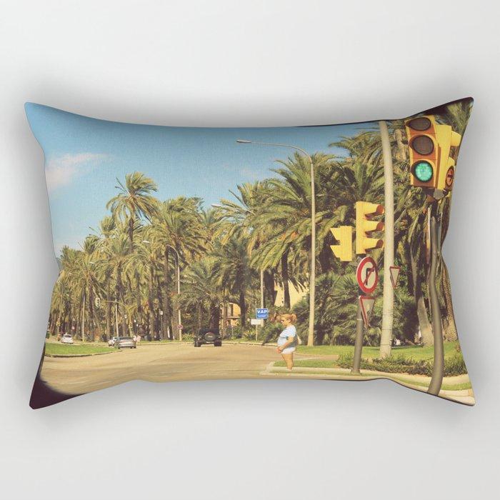 Trafficlight Rectangular Pillow