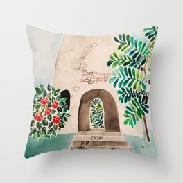 Sugar Mill Throw Pillow