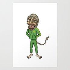 Northern Monkey Art Print