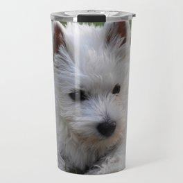 Westie puppy Travel Mug