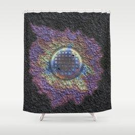 Pollution Shower Curtain