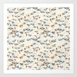 Go To Sleep Sheep Art Print