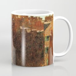 Classical Masterpiece 'Mount Vernon Street, Boston' by Frederick Childe Hassam Coffee Mug