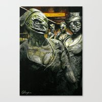 silent hill Canvas Prints featuring Silent Hill by Sprite Ideas