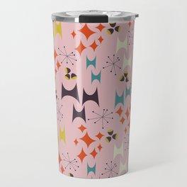 Deviled Starbursts Pink Travel Mug