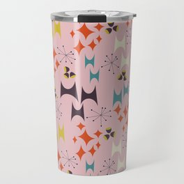 Deviled Starbursts Pink Travel Mug