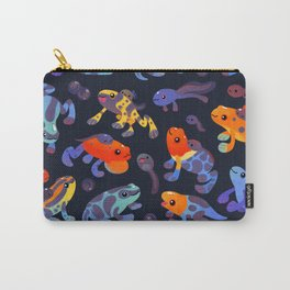 Poison dart frogs - dark Carry-All Pouch