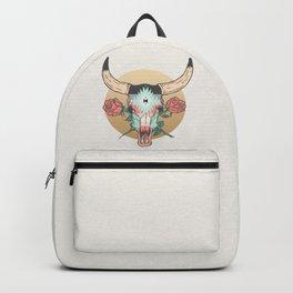 cráneo de vaca Backpack