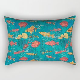 Fish garden Rectangular Pillow