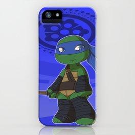 TMNT Chibi Leo iPhone Case