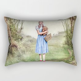 Dorothy & Tóto Rectangular Pillow