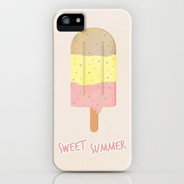 Summer Ice Cream iPhone Case