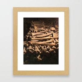 The Bones Framed Art Print