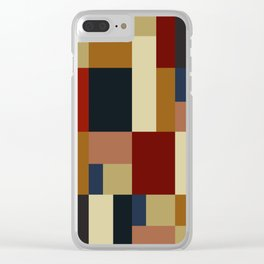 BAUHAUS DAYLIGHT Clear iPhone Case