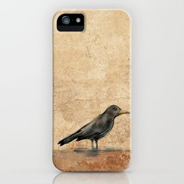 Crow iPhone Case
