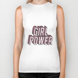 Girl Power Biker Tank