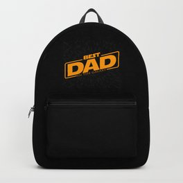 Best Dad in the Galaxy | Father's Day Backpack
