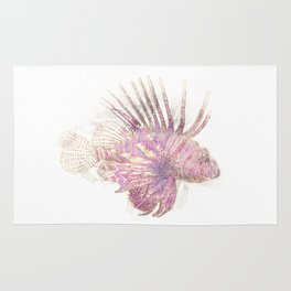 Lets draw a Lionfish Rug
