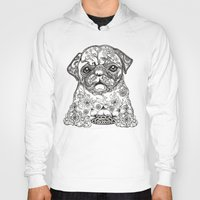 persian Hoodies featuring Persian Pug by Huebucket