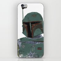 boba fett iPhone & iPod Skins featuring Boba Fett by Hey!Roger