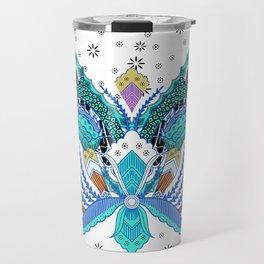 Indonesian batik artwork Travel Mug