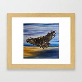 The Golden Eagle Framed Art Print