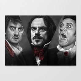 New Zealand Vampires Canvas Print