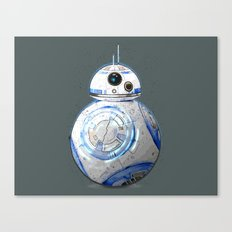 BB8 R2D2 Canvas Print