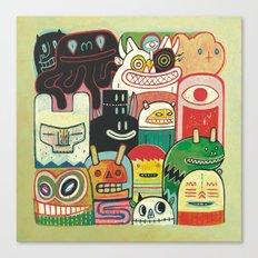 Instant drôlatique 2 Canvas Print