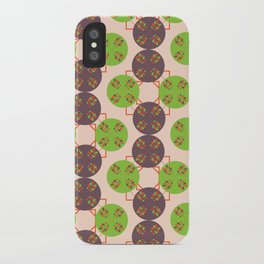 70s Inspired Pattern iPhone Case