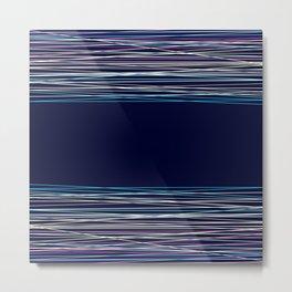 Abstract dark blue background Metal Print