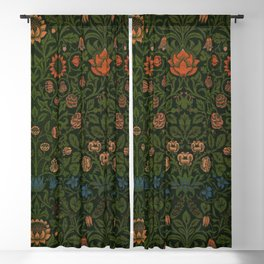 Violet and Columbine by William Morris (1834-1896) Blackout Curtain
