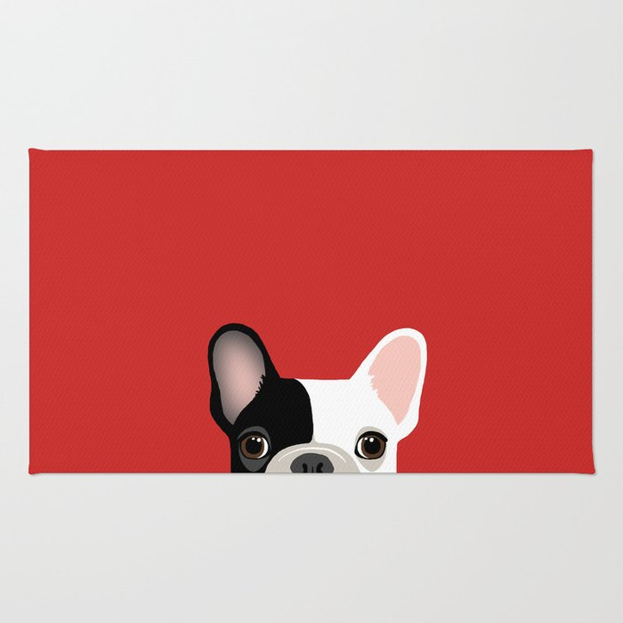 French Bulldog Rug