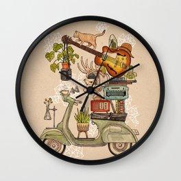 Pleasant Balance II Wall Clock