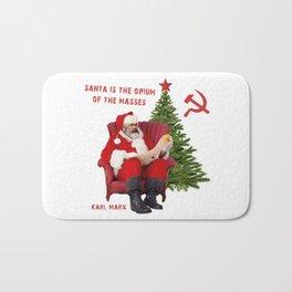Karl Marx Santa Bath Mat