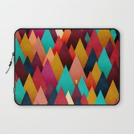 072 – deep into the autumn forest texture III Laptop Sleeve