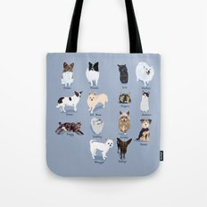 14 Dogs & Kitties Tote Bag