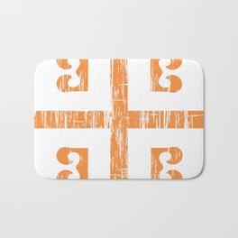 Byzantine Cross Bath Mat
