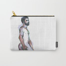 ED, Nude Male by Frank-Joseph Carry-All Pouch