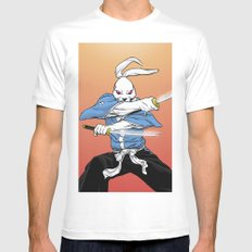 Usagi Yojimbo Mens Fitted Tee White MEDIUM