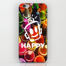 Crayon HAPPY iPhone Skin