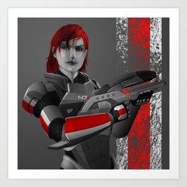 Mass Effect - M8 Art Print