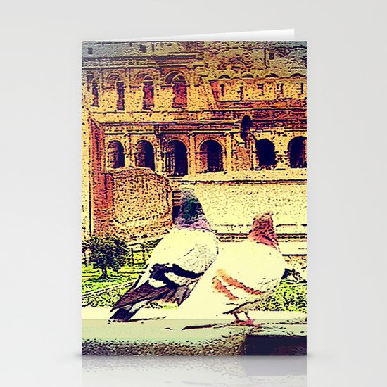 Romantic Rome Stationery Cards