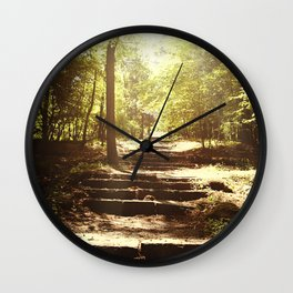 Up the Down Stairs Wall Clock