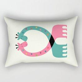 Love With Heart Rectangular Pillow